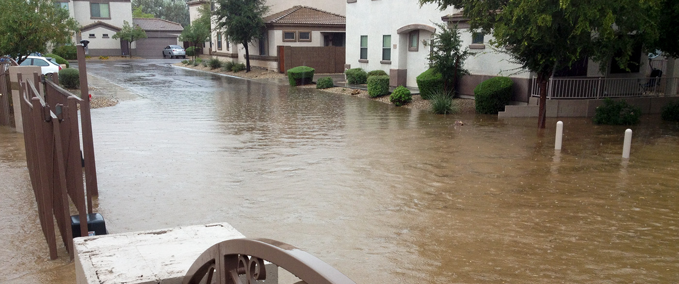 water damage disaster cleanup gilbert